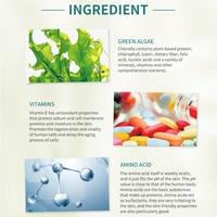 SOMILD Green Algae Sunburn Repair Gel Sunscreen Face Cream Moisturizer After Sun Repair Whitening Cream Natural Ingredients 120g 4