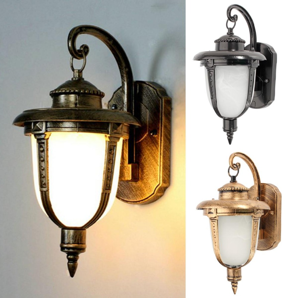 1pcs Wall light wall mount led light lamp outdoor garden exterior porch patio waterproof lantern