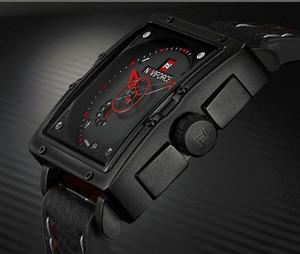 Image 3 - Naviforce Uhren Männer Marke Luxus Leder Quarz Männer Uhr Mode Lässig Militär Sport Männliche Datum Armbanduhren Luminous Uhr