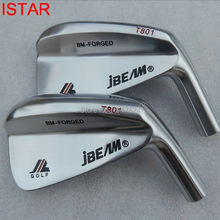 Fujistar Jbeam BM-FORGED T801 Gesmeed Carbon Staal #4-#9,P/7Pcs Set Golf Iron Heads Speciale Prijs
