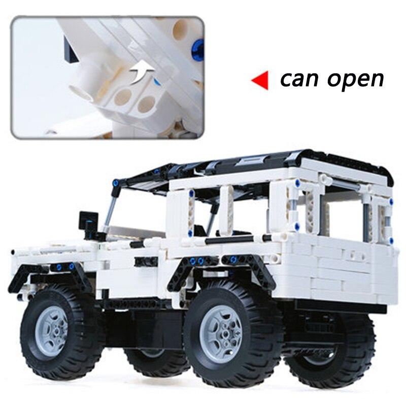 531PCS CaDA Buliding Auto Blokken C51004 Model DIY RC Bouwsteen Speelgoed Auto Gift-in Blokken van Speelgoed & Hobbies op  Groep 3