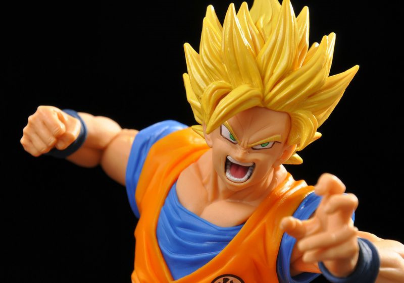 19cm Dragon ball z action figure Budokai 6 super saiyan son goku super 2 goku pvc collection anime toy doll model garage kit 4parts sets super lovely chopper anime one piece model garage kit pvc action figure classic collection toy doll