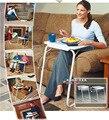 Mesas de computador Do Escritório Comercial painel + tubo de aço Móveis para casa mesa do laptop 51*39*70 cm hot whole venda 2016 pode personalizar 2.7 kg