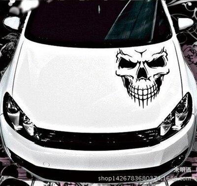 Asottu dog skull lion dogs girls umbrella Scorpion cute Car sticker Car Styling Accessories
