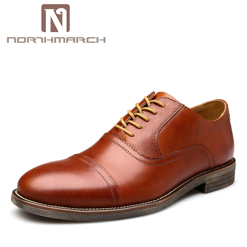 NORTHMARCH New Men's Dress Shoes Classic Round Toe Oxfords Shoes Men Fashion Business Mens Formal Shoes Sapato Social Masculino men party shoes oxfords 2015 hot men s genuine leather shoes brand sapato masculino couro social round toe palladium shoes 38 46