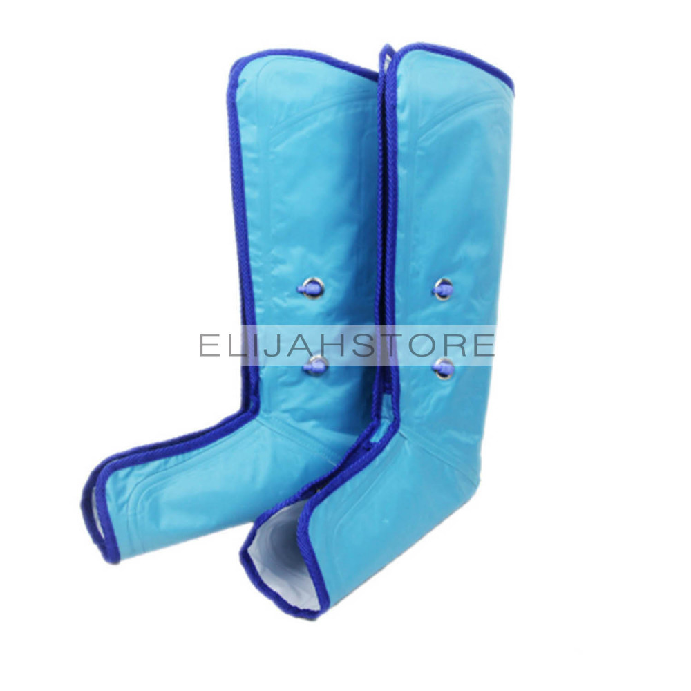 17 New Ankle Therapy Massage Slimming Legs Foot Massager Air Compression Leg Wrap Boot Socks Heating Sauna Belt Relax Vibrator 16
