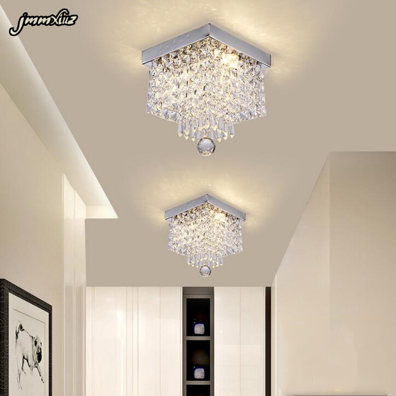 Fashion square crystal led Chandeliers LED lamps restaurant corridor high power LED Chandelier  led lustre light Chandeliers