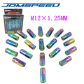 Xpower - D1 SPEC JDM  WHEEL LUG NUTS NEO CHROME M12X 1.25MM FOR Nissan Subaru infiniti  (P:1.25 )