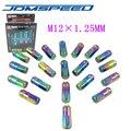 Xpower-JDM D1 SPEC RUEDA TUERCAS NEO CHROME M12X 1.25 MM PARA Nissan Subaru infiniti (P: 1.25)