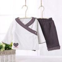 ילדה תינוק סט תינוק הלבשה למעלה & מכנסיים ילדים בגדי סט 2 יחידות חבילה בגדים חמים מעיל ומכנסיים ילדי חולצה ומכנסיים