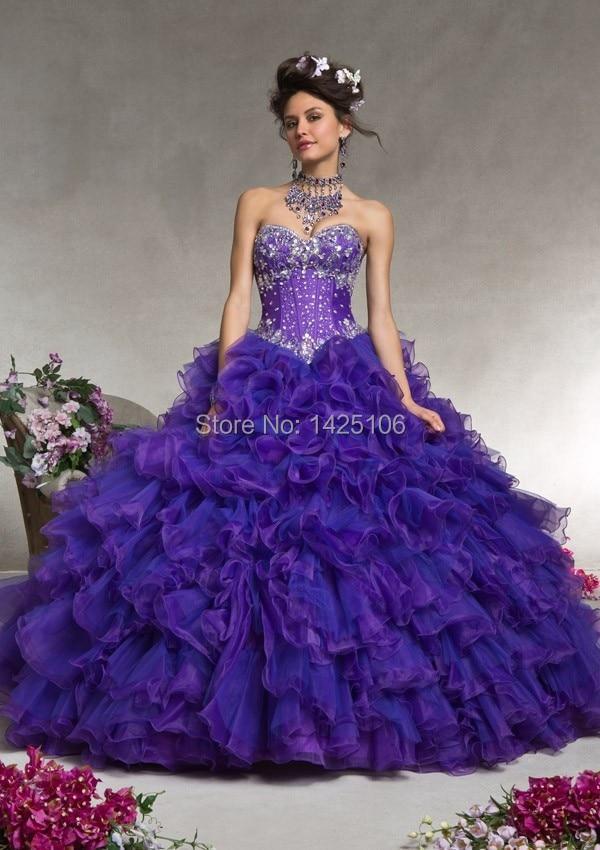 Quinceanera Dresses Purple - Missy Dress