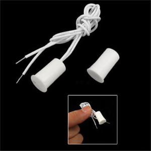 Image 5 - 50Pair Wired Door Window Sensor Recessed Magnetic Contacts Security Reed Switch Alarm For Home Security Alarm White Hot Sale