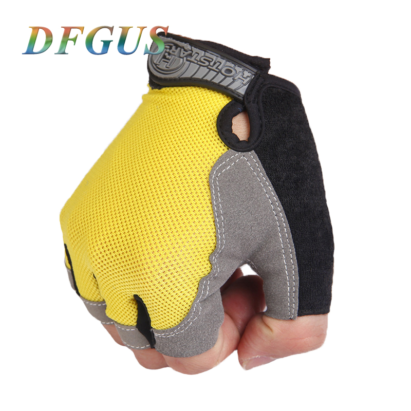 2018 Gym Gloves Fitness Weightlifting Training Mittens Outdoor Sports Men's Gloves Women Ridding Guantes Gym Gloves