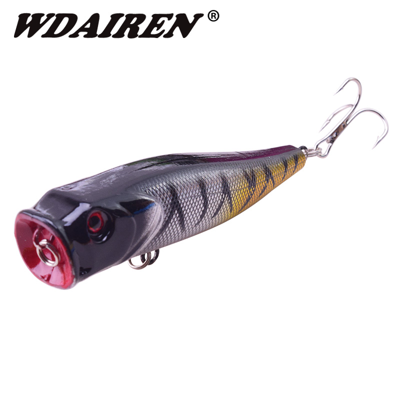 1Pcs Fishing Lures Popper Topwater Floating baits 8.5cm 14g bass sea pesca crank Lure swim bait Wobblers fishing tackle FA-264 fishing topwater floating popper poper lure 6 high carbon steel hooks crank baits tackle tool 6 5cm 13g fishing tackle zb203