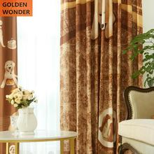 Luxury Children Bedroom Curtains Curtain Finished Cartoon Window Living Room Customized Drapes