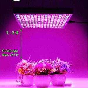 Image 5 - DCOO פיטו מנורת 45W LED צמחים לגדול אורות 265V ספקטרום מלא עבור מקורה חממה צמחי הידרופוניקה פרח פנל לגדול אורות