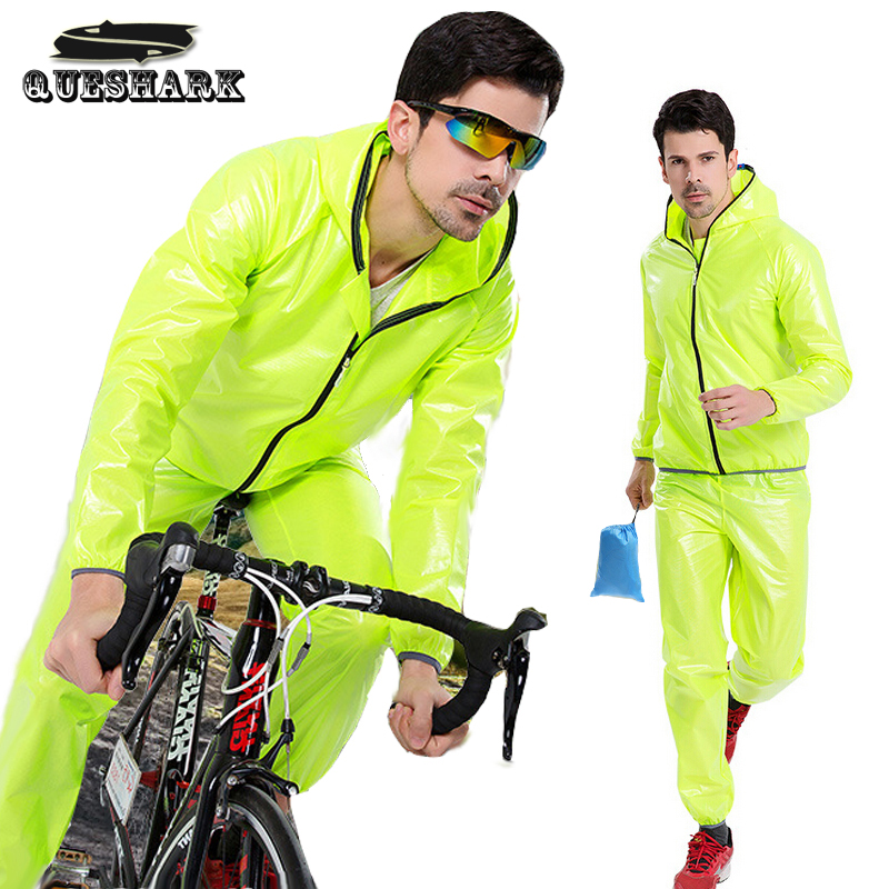 цена на Quick Dry Cycling Raincoat Waterproof Bicycle Jacket Men Women Road MTB Mountain TPU Bike Rain Coats Cycling Poncho Clothing