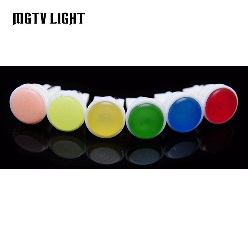 MGTV LIGHT 4Pcs High Quality T10 194 168 192 W5W 6 LED COB Chip Auto Car Interior Led Wedge Door Light Car SideLamp Bulb image