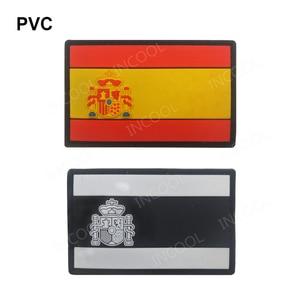 Image 5 - רקמת תיקון ספרד דגל צבא צבאי טקטי תיקוני סמל אפליקציות ספרדית דגלי גומי PVC תגים רקומים