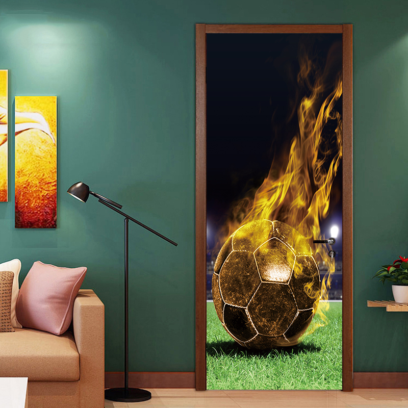 Huge 3D Window view Fantasy Forest Wood Fairytale Wall Sticker Mural Decal 60