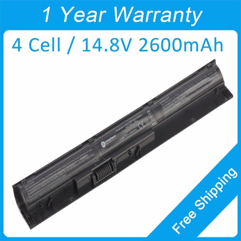 4 cell 2600mah laptop battery for hp ProBook 440 G2 445 G2 470 G3 450 G2 455 G2 756746-001 HSTNN-LB61 TPN-Q144 HSTNN-LB6K