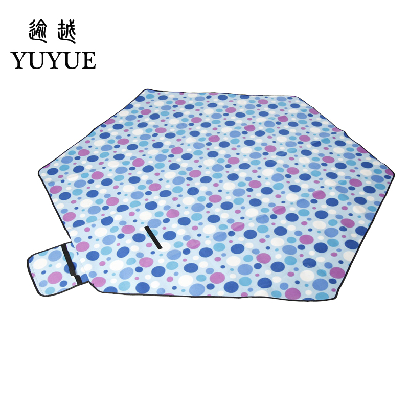 Big size picnic mat high quality suede aluminum file waterproof for tourist camping tent fishing picnic camping mat 0