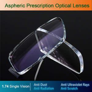 Prescription Lenses Eyeglasses Optical Single-Vision Degree Aspheric