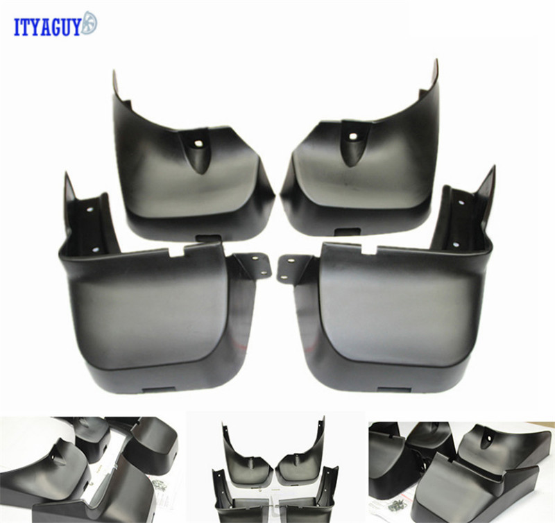 Fit For Infiniti JX35 QX60 2013+ Mudguards Splash guards Mud Flap mudflaps Mudguard 4PCS Car accesories fit for jeep patriot deluxe molded mudflaps mud flap splash guard mudguards set free shipping