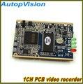 1CH MINI DVR PCB Board mit D1 Auflösung fernbedienung-in DVR-Karten aus Sicherheit und Schutz bei