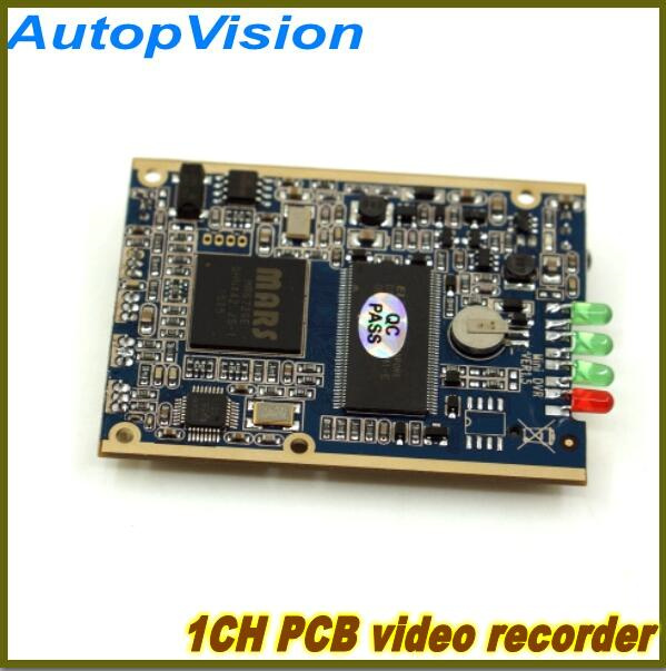 1CH MINI DVR PCB Board with D1 Resolution Remote control