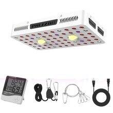 Phlizon Luz Led de cultivo COB de 1000w, espectro completo, UV IR, planta de interior, invernadero, flores vegetales hidropónicas con certificaciones, Chip Dual