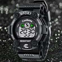 Moda Sport Reloj de Los Hombres de Primeras Marcas de Lujo LED Digital Reloj de Pulsera Relogio masculino Masculino Reloj Electrónico Relojes Para Hombres Hodinky