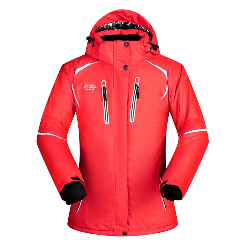 2018 Nouveau Haute Qualité Ski Veste Femmes Hiver Coupe-Vent Imperméable Chaud Snowboard Vestes Vêtements De Sport De Neige Vêtements Marques