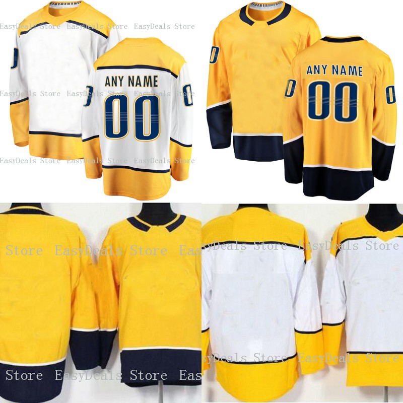 277510ba1 9 Filip Forsberg New Ice Hockey Jersey 76 PK Subban 59 Josi 35 Rinne 12  fisher Stitched Custom Any Name Any Number Hockey Jersey