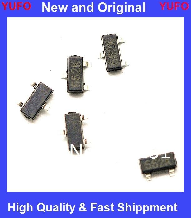 3.3V//0.5A Positive Fixed LDO Voltage Regulator SOT-23 662K 50pcs XC6206P332MR