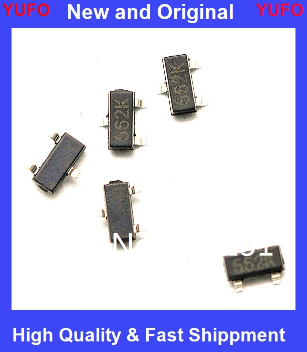 50pcs free shipping XC6206P332MR <font><b>662K</b></font> XC6206 3.3V/0.5A Positive Fixed LDO <font><b>Voltage</b></font> <font><b>Regulator</b></font> SOT-23 new original image