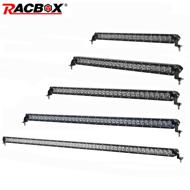 22 26 32 41 51 Inch Single Row 5d Offroad Led Light Bar 100w 120w 150w 200w Combo Beam Led Work Light For Atv Uaz 4x4 Suv 4wd Colours Are Striking
