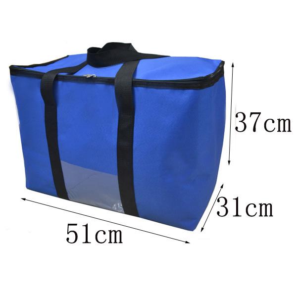 58L Aumentando saco térmico pacote de isolamento de grandes dimensões