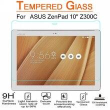 Para ASUS ZenPad 10 Z301MFL Z301ML Z301 Z300C Z300M Z300CL Z300C 10.1 pulgadas a prueba de Explosiones Prima Templado Vidrio de la Pantalla Protector
