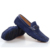 ZNPNXN Mens Zapatos Ocasionales de 2016 Nuevos hombres de Cuero Genuino Mocasines Conducción Zapatos Mocasines slip on Blcak Blanco Azul
