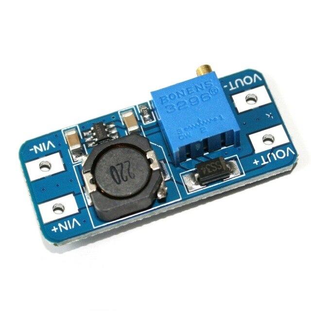 MT3608 DC-DC Step Up конвертер Booster питание модуль Boost Step-up доска MAX Выход 28 в 2A для arduino