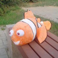 Original Rare Big 55cm Finding Nemo Nemo's Father Marlin Fish Cute Soft Stuffed Plush Toy Doll Birthday Gift Baby Children Gift