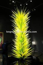 Luxury Hotel Lobby Decorative Glass Sculpture Fantastic Murano