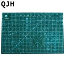 A3 pvc tabla de cortar base de corte de doble cara auto curación tejido acolchado almohadilla de corte de cuero del arte de diy accesorios 45 cm * 30 cm