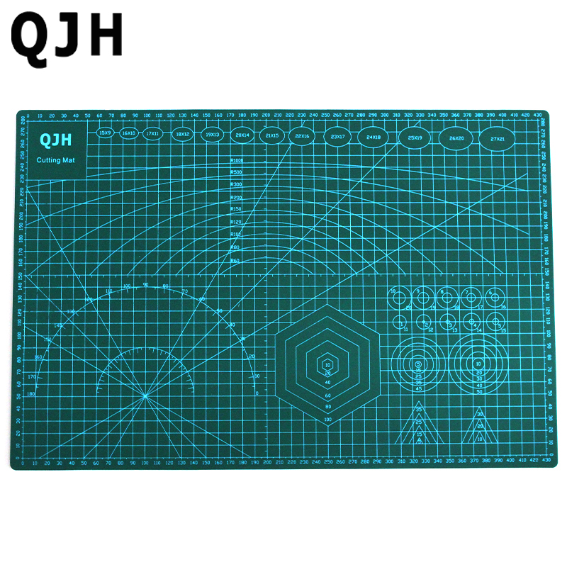 A3 Pvc Cutting Mat Double-sided Self Healing Cutting Board Fabric Leather Craft...