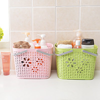 Handle Storage Basket For Toys Office Stationery Jewelry Sundries Box Cosmetic Container Mini Storage Basket Kitchen
