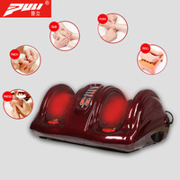 PULI Electric Acupressure Foot Massager Infrared Heating Kneading Foot Massager Muscle stimulation Relaxation Remote Massager