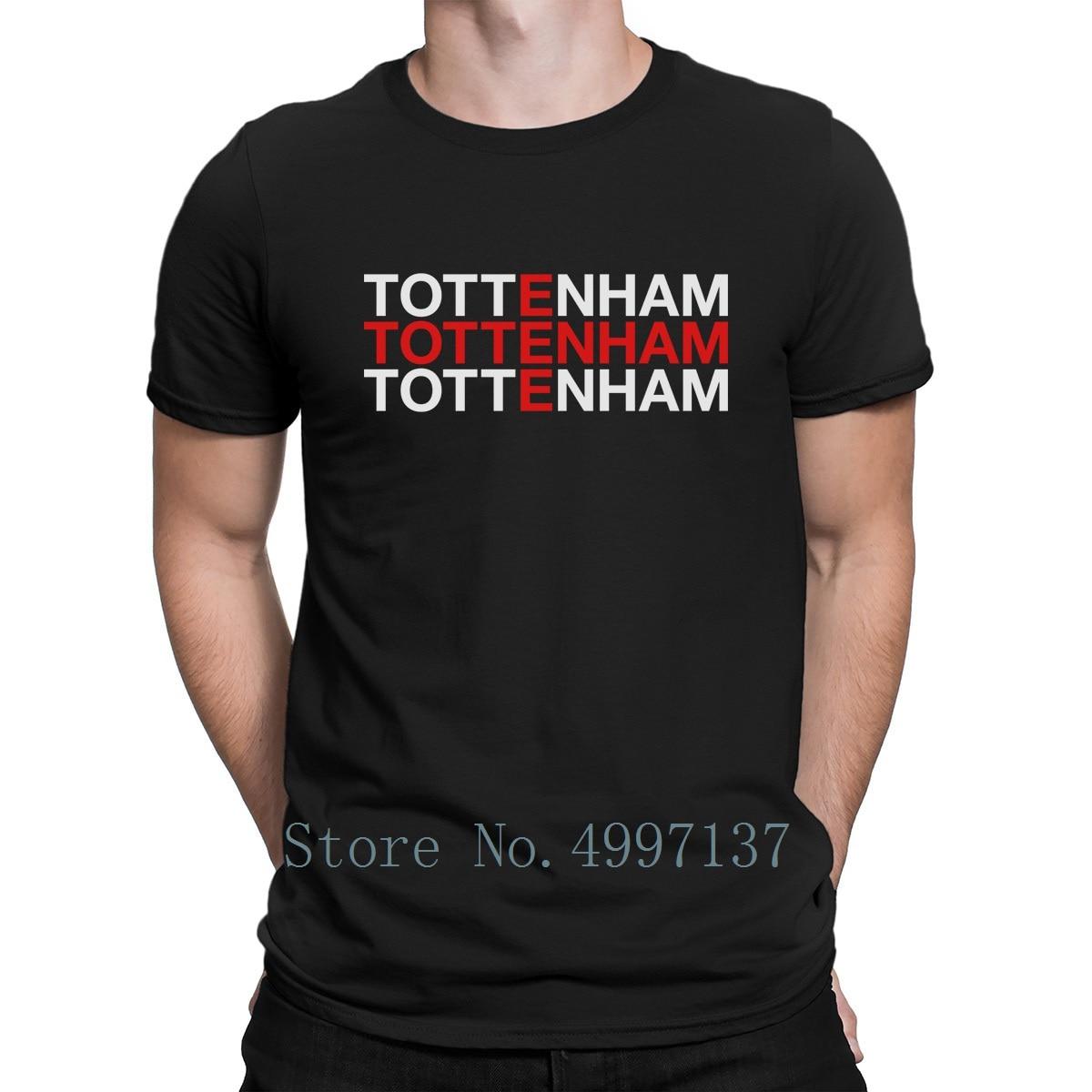 Tottenham   T     Shirt   Sunlight Tee   Shirt   Designer Letters Family Spring Basic Euro Size S-3xl   Shirt