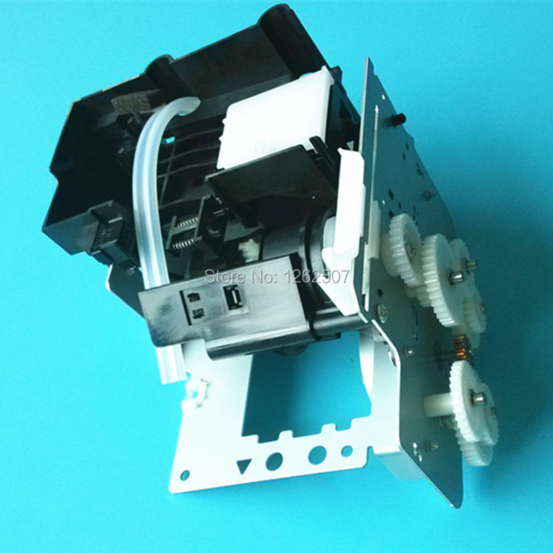 For Epson Stylus Pro 7880 9880 Printer ink pump For Epson 7880 9880 Original Ink pump Assembly Part No. 146802501 Cleaning unit new original printhead cable for epson stylus pro 7880 9880 9400 9450 7800 7400 7450 9800 9880c 9880 7550s 9550s solvent printer