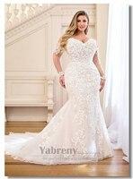 Плюс Размеры облегающие свадебные платья